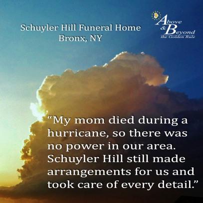 Schuyler Hill Funeral Home 10-1-15