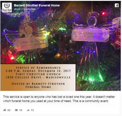 Grief The Holidays 5 Ways Funeral Homes Give Back Blog